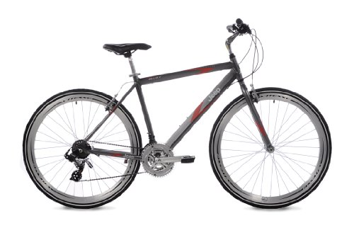 Jeep Compass Men's Hybrid Bike (700c Wheels, 22-Inch Frame)