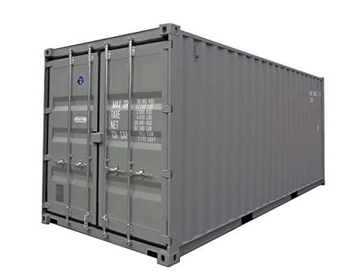 20ft NEW One Trip General Purpose Steel Shipping Container / Secure, Large, Outdoor, Portable Storage Shed / 20' Cargo Container / Container Home / Emergency Shelter / Vacation Home (Home 20 Feet compare prices)