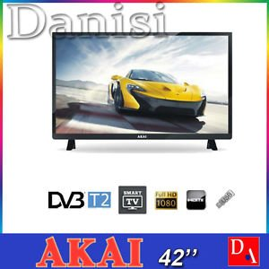 "TV LED 42""FHD DVBT2/S2 2HDMI 3USB SM.TV CL.A NERO"