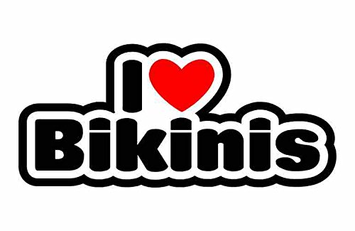 I Love Bikinis - Bikini - Auto