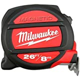 Milwaukee 48225225 Metric and Imperial 8m 26ft Magnetic Tape Measure