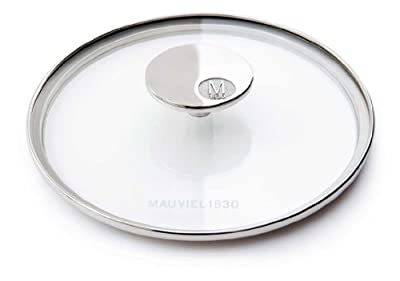 Mauviel M'360 5318.30 11.8-Inch Glass Lid with Cast Stainless Steel