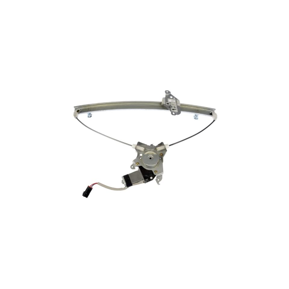 Dorman 741 148 Front Driver Side Replacement Power Window Regulator with Motor for Nissan Quest