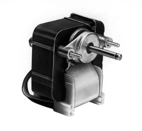 Fasco K610 C Frame Open K Line Shaded Pole Oem Replacement Electric Motor With Sleeve Bearing, 1/60Hp, 3000Rpm, 115Vac, 60Hz, 0.75-0.63 Amps, For Rangehood