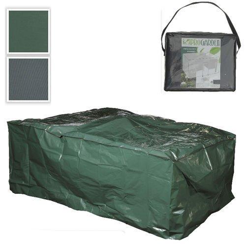 AP24 – Gartenmöbelabdeckung Gartenmöbelhülle Schutzhülle Plane Abdeckplane Garten Möbel Gartenmöbel 230x135x80cm Gewebeplane (Grün) online bestellen