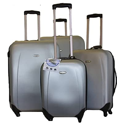"Hard Shell 4 Wheel 28"" Suitcase Trolley Case Bag Hand Luggage Small Medium Large"
