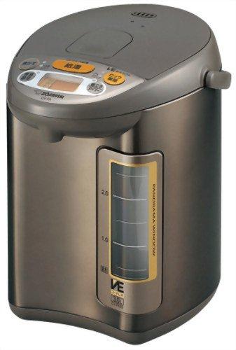 【Amazonの商品情報へ】ZOJIRUSHI マイコン沸とうVE電気まほうびん 優湯生 3.0L CV-FA30-TA ブラウン