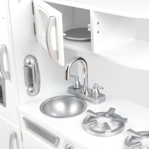 41LiB35 gCL. AA75 KidKraft 53208 Weisse Retro Küche