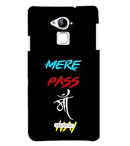PRINTSHOPPII MERE PAAS MAA HAI Back Case Cover for Apple iPhone 6S