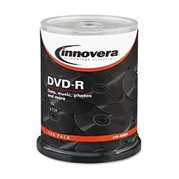 Innovera 46890 Innovera DVD-R Recordable Disc IVR46890 IVR 46890
