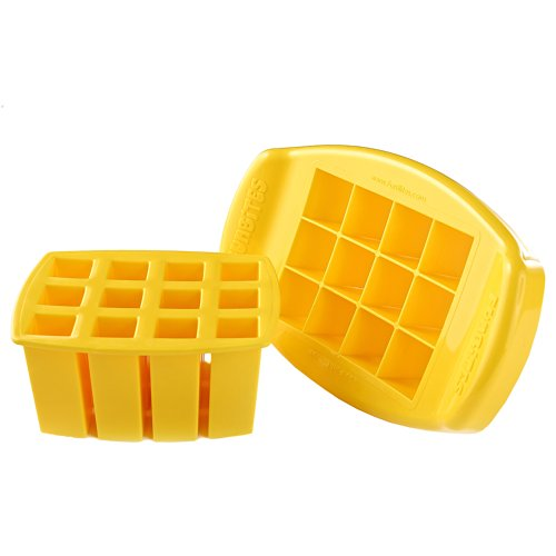 FunBites Food Cutter, Yellow Squares (Sandwich Cutter Square compare prices)