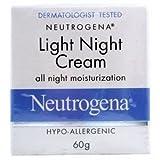 Neutrogena Light Night Cream all night Moisturization (60g)