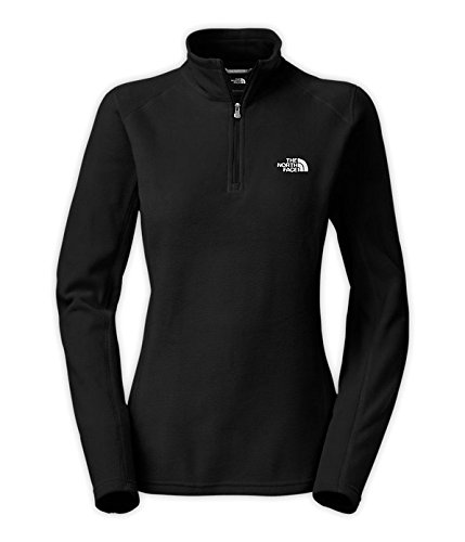 The North Face Glacier 1/4 Zip Fleece Women's TNF Black XL
