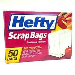 hefty scrap bag refills 100 bags health