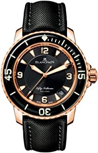 Blancpain Men's 5015.3630.52 Fifty Fathoms Gold Watch