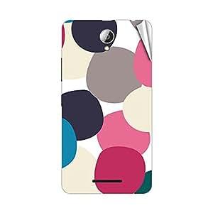 Garmor Designer Mobile Skin Sticker For Lenovo S650 - Mobile Sticker