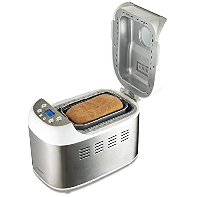 Kenwood BM900 1.5 Kg Bread Maker, 220-volt (Non-USA Compliant), Silver from Kenwood