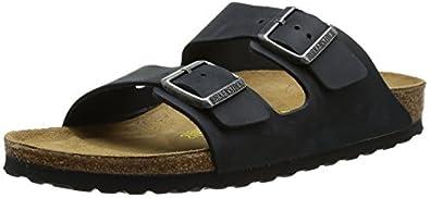 Birkenstock Unisex Arizona 552111 Black Slides Sandal 4 UK 37 EU