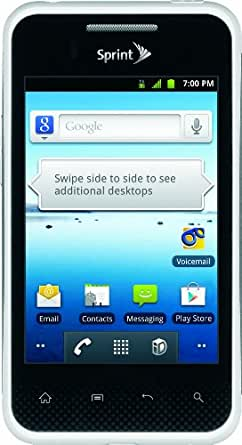 LG Optimus Elite, White 4GB (Sprint)