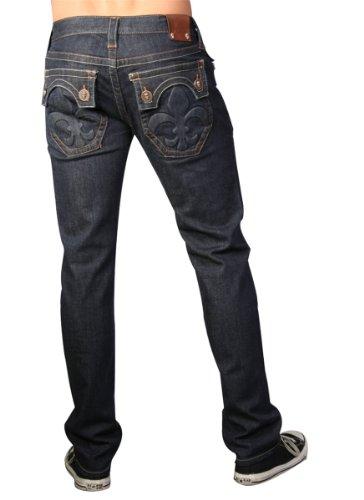 Laguna Beach - Hermosa Beach Men´s genuine Designer Jeans, blue W34