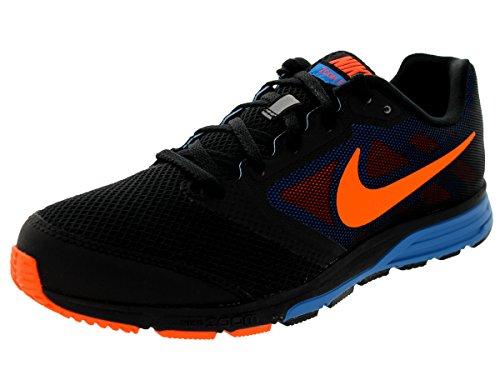 Nike Men'S Zoom Fly Black/Hyper Crimson/Photo Blue Running Shoe 10.5 Men Us