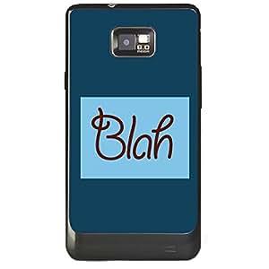 Skin4gadgets BLAH Phone Skin for SAMSUNG GALAXY S2 (I9100)