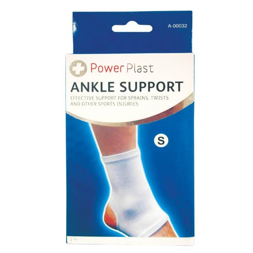 Elasticated Ankle Sports Injury Support Bandage Foot Sprains Twists S M L