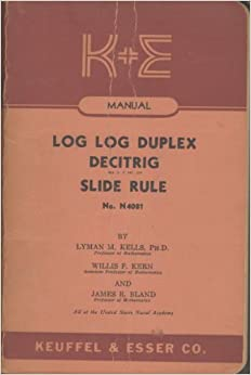k&e 4081 3 slide rule manual