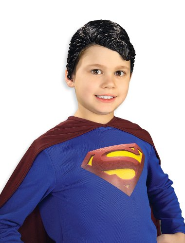 Superman Vinyl Wig Child Rubie's Costume - 1