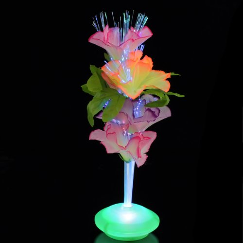 Fiber Optic Flower Centerpiece