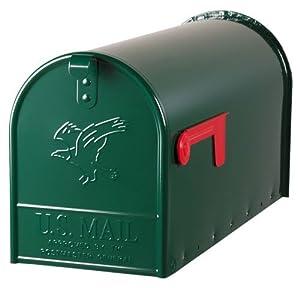 Große Original USMailbox Elite, T2, Stahl, grün  US Mailbox  BaumarktKundenbewertung und Beschreibung