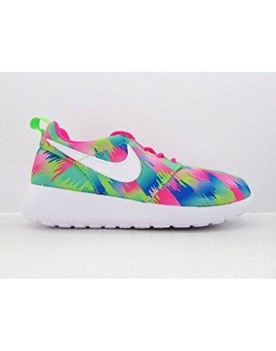 Nike Roshe One Print (GSV)-677784-607 Size 5Y