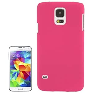Anti-scratch Plastic Protective Case for Samsung Galaxy S5 G900 in Magenta