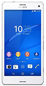 Sony Xperia Z3 Compact Smartphone (11,7 cm (4,6 Zoll) HD-TRILUMINOS-Display, 2,5 GHz-Quad-Core-Prozessor, 20,7 Megapixel-Kamera, Android 4.4) weiß