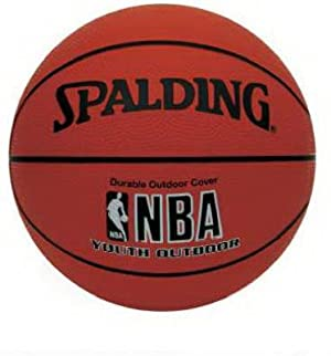 Spalding NBA Youth Outdoor Basketball - Youth Size 5