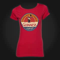 Guinness Red Lovely Day Toucan Ladies Tee