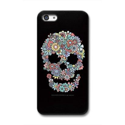 CollaBorn iPhone5専用スマートフォンケース Flower Skull 【iPhone5対応】 OS-I5-124