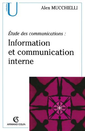 Étude des communications : information et communication interne: Pour de nouveaux audits