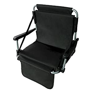 Black Stadium Chair from CKB Products Wholesale