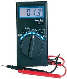 Ancor 702071 Marine Grade Electrical 4-function 6-Range Digital Multimeter