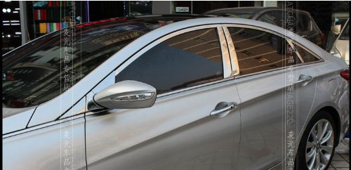 Car Auto Parts Shiny Chrome Stainless Steel Window