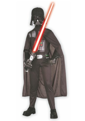Star Wars Darth Vader Dress Up Costume Small 4-6x