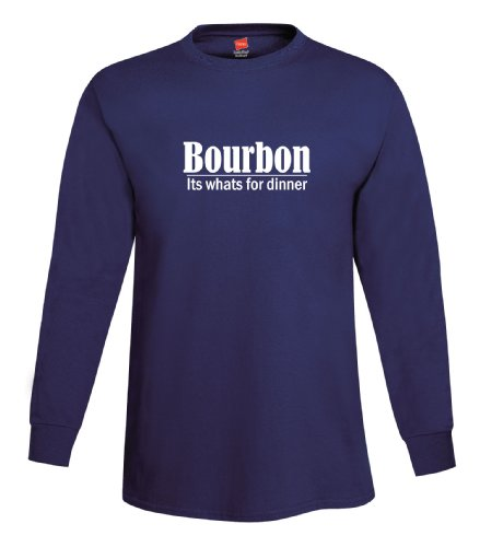 shirtloco-mens-bourbon-its-whats-for-dinner-long-sleeve-t-shirt-navy-blue-extra-large