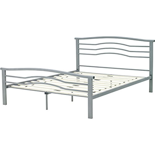 Rent To Own Hanover HBEDMID QN Midtown Metal Platform Bed Frame, Queen, ...