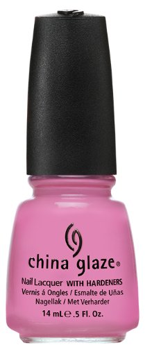 China Glaze Nail Polish, Dance Baby, 0.5 Fluid Ounce (Bubble Gum Nail Polish compare prices)