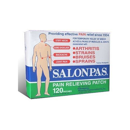 Cheapest Prices! Salonpas Pain Relieving Patch - 120 Patches