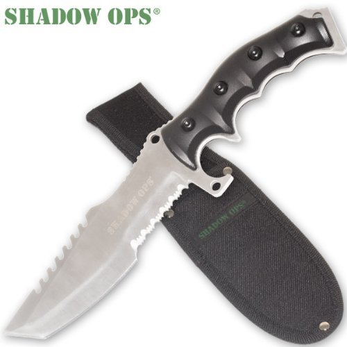 Shadow Ops Extreme Tactical Fighting Knife