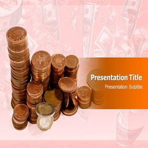 Coin Powerpoint Template   Powerpoint Templates for Computer Education PPT   Laptop PPT Template   Education Powerpoint
