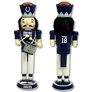 Indianapolis Colts 14inch Drummer Nutcracker 98724 by Forever Collectibles
