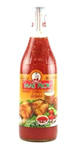 Mae Ploy Sweet Chili Sauce, 25-Ounce Bottle (Pack of 2)